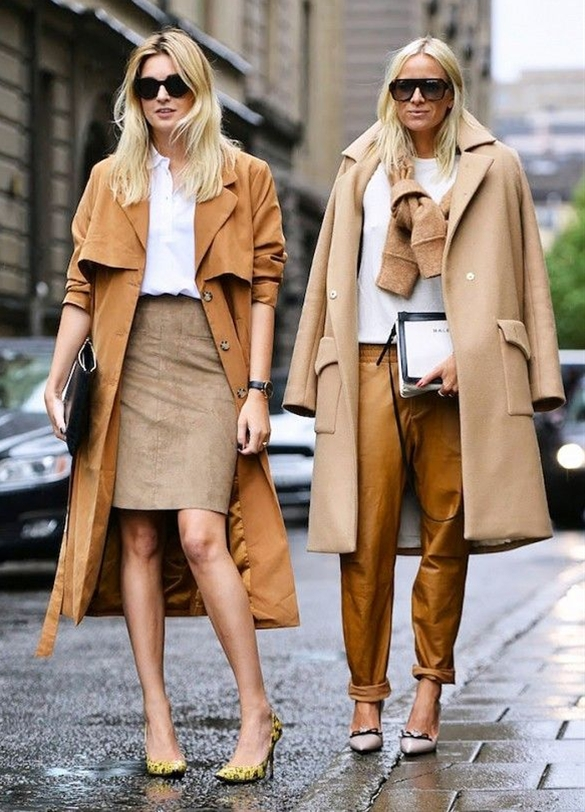 The Color That Makes Everything Look More Expensive, street style in Stockholm, Sweden.