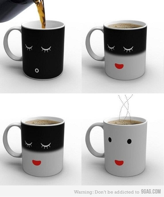Sleep/Awake coffee mug