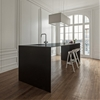 Slim kitchen island installed at Home 10 by i29