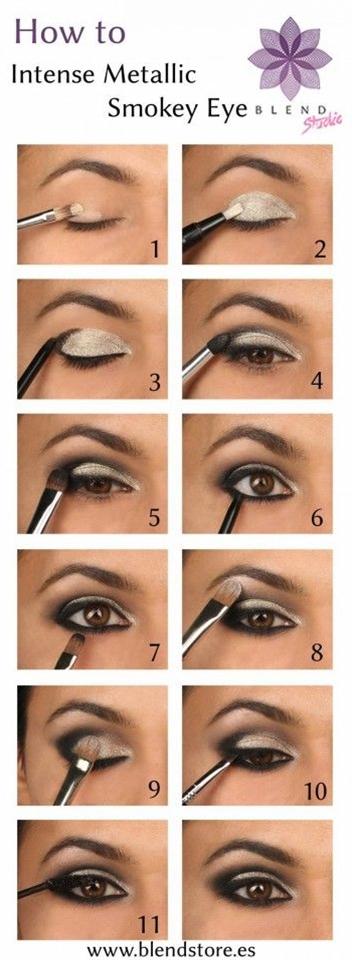 Stunning Step-By-Step Makeup Idea