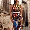 Tess Hellefeur Models Colorful Prints for Alexander Neumann in Vogue Mexico