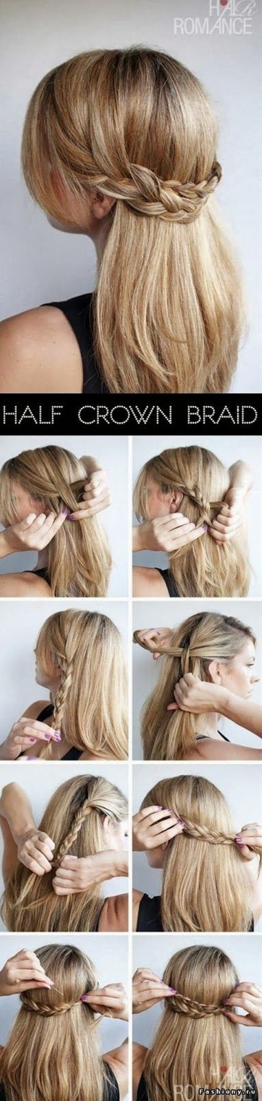 Easy Way to get such Hair style, a nice tutorial