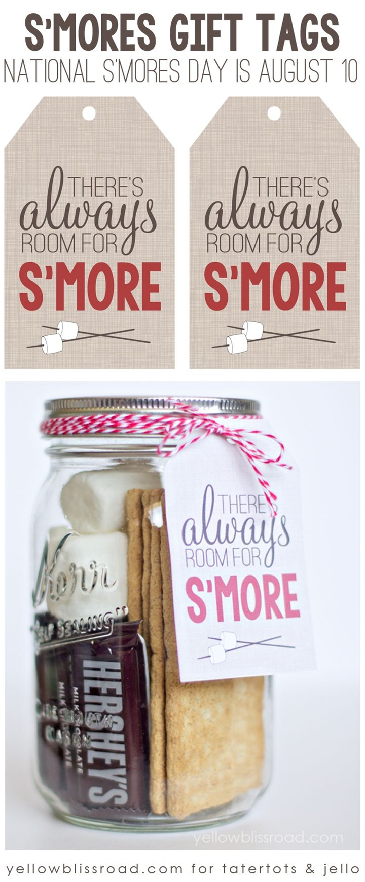 There's always room for s'more  - S'More day is Aug 10th - who knew???