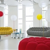 Large 3-seat Sofa Bubble by Roche Bobois