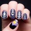 The Disney Diva: Ursula Nail Art