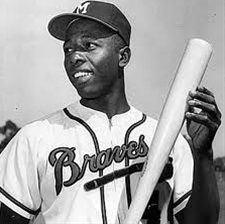 April 8, 1974: Hank Aaron becomes the all time leading home run hitter, breaking Babe Ruth's mark of 714. Aaron went on to hit 755, which stood as the record until August 7, 2007 when Barry Bonds hit his 756th. Bonds hit 762 in his career.