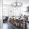 Steal This Look: A Glamorous Swiss-Italian Kitchen, Chandelier Included