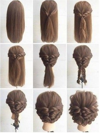 Superb Fashionable Braid Hairstyle For Shoulder Length Hair Postris Hairstyle Inspiration Daily Dogsangcom