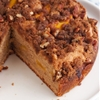 Gluten-Free Peach Cake with Cinnamon Streusel Topping