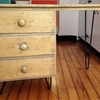 Before & After: The Early Bird Gets The Hairpin Desk