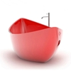 Boat Shaped Bathtub by ZAD Italy - Funamori