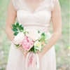 Blush Pink Mountain Lodge Wedding