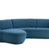 Elegant Compact Corner Sofa Gynko by Leolux