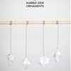 DIY MARBLE GEM DECORATIONS