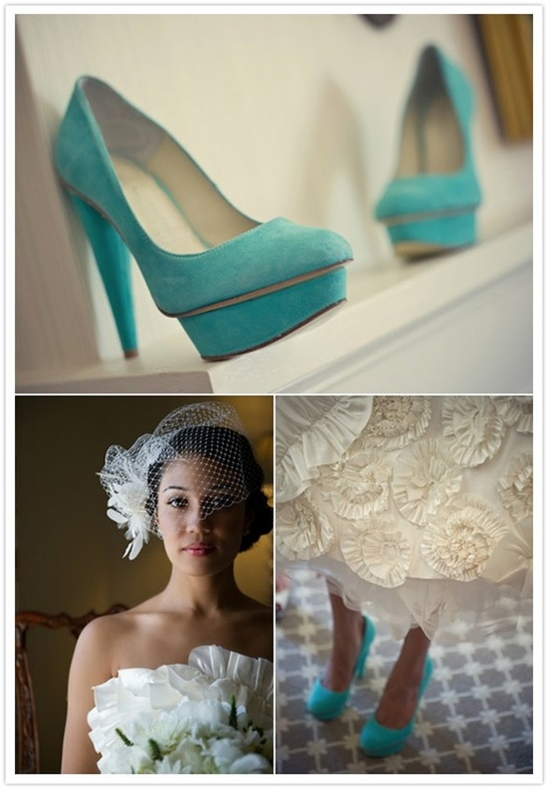 tiffany's blue shoes