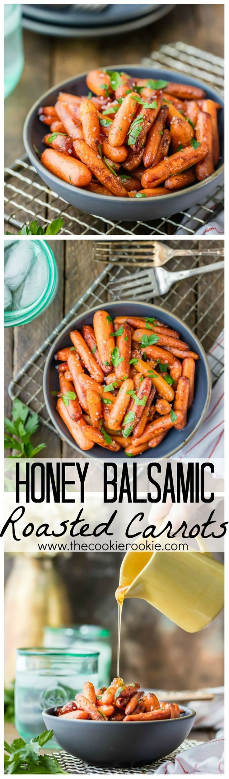 You'll look like a chef but you'll secretly know this is the EASIEST side dish EVER! Perfect healthy side for Thanksgiving!\n\n