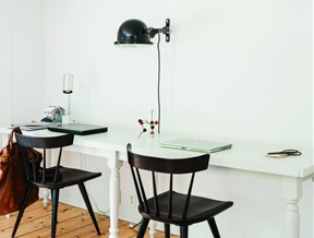 Steal This Look: The DIY Partner's Desk by Workstead