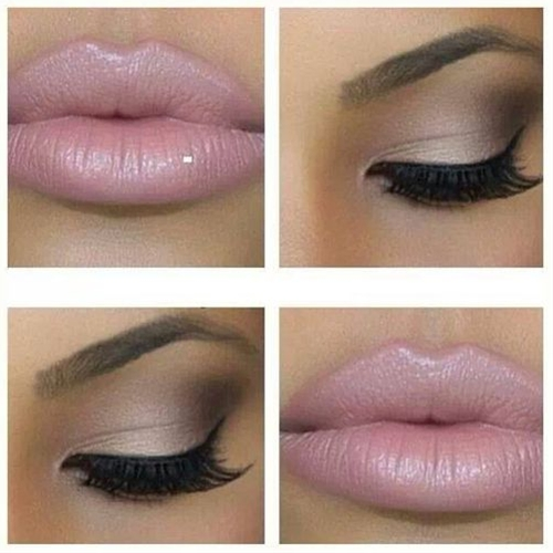 love the neutral eyeshadow