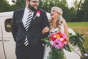 Colorful Southern Wedding with Whimsy