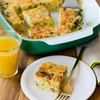Recipe: Breakfast Polenta Squares with Spinach & Bacon — Breakfast Recipes from The Kitchn
