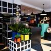 "Darkroom patterns furniture and accessories with Superstudio's ""anti-design"" grids"