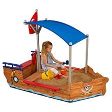 Pirate sand box...