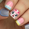 The Nailasaurus: Unikitty Lego Nail Art