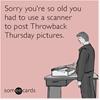 Old photos.