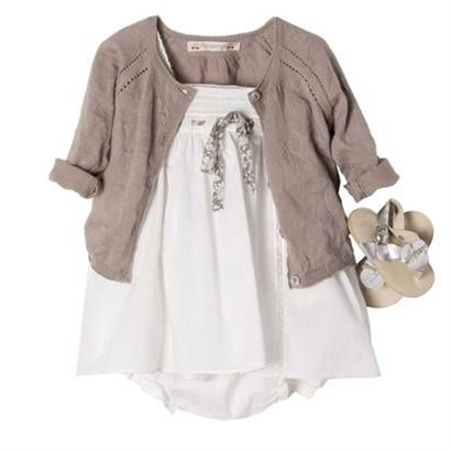 All-time very favorite, most wonderful baby girl outfit!