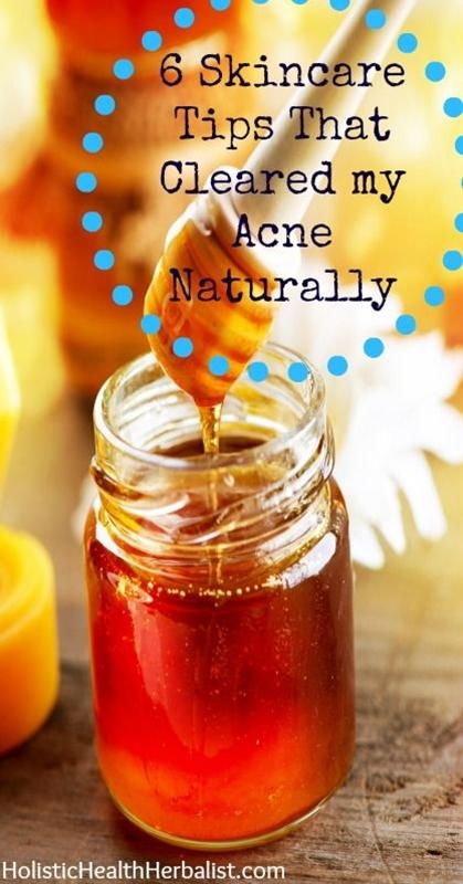 1. Honey Cleansing in the Morning. 2. Rose Water Toner. 3. Jojoba Oil Moisturizer. 4. Cinnamon, Nutmeg, and Manuka Honey Spot Treatment/Scrub. 5. Clay Mask. 6. Oil Cleansing in the Evening.