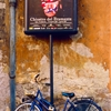 Andy Warhol Sign and Bicycle, near Piazza Navona, Rome, Italy©...