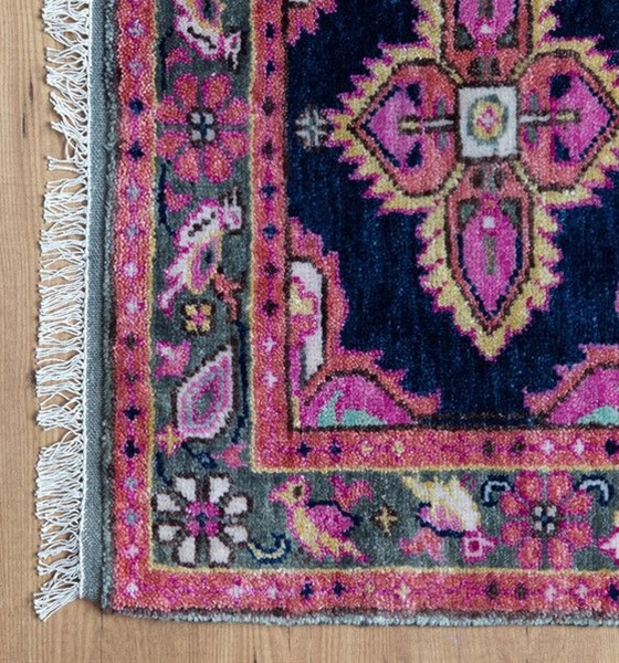 love these antique inspired rugs