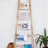 QUICK DIY: LADDER MAGAZINE RACK