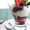 Coconut Milk Ice Cream Berry Parfaits