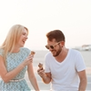 Sweet Beach Engagement Shoot in Dubai