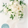 Bouquet Breakdown: All-White Sophisticated Southern Wedding Bouquet