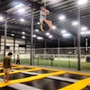 I went to the trampoline park, they said no one's gotten...