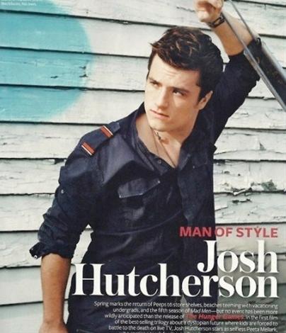 Yum! Josh Hutcherson