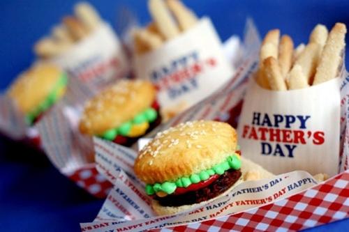 Burger cupcakes #cupcakes