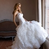 Aurora strapless dress with sweetheart neckline and ruffled skirt. (via Alessandra Rinaudo Wedding Dresses 2012 | Wedding Inspirasi)