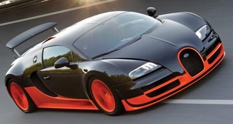 Bugatti Veyron Super Sport: 267 mph, 0-60 in 2.4 secs