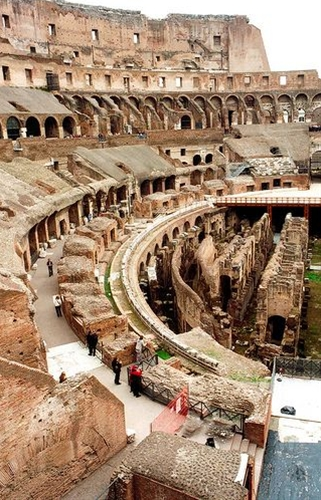 did you know that they could fill the colliseum with water via aqueducts to re-enact navy battles?