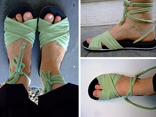 Sandal tutorial