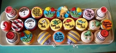 Dr Suess Cupcakes!