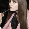 Backstage at Atelier Versace S/S 2014 Model : Marine Deleeuw