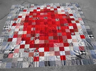 Fun, modern quilt