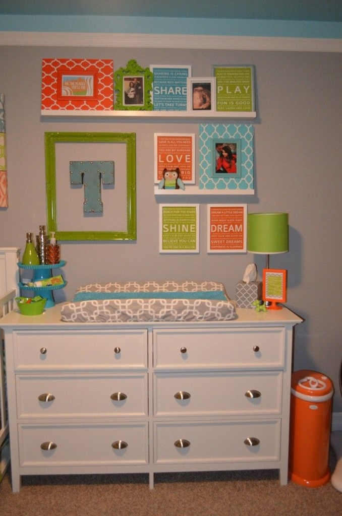 A Bright and Cheerful room for our Little Man