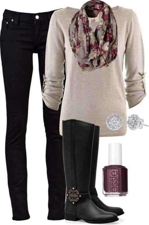great Outfit Idea….minus skinny jeans.