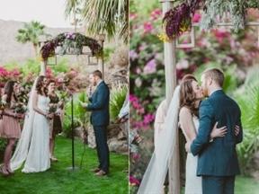 Modern Boho Wedding in Palm Springs