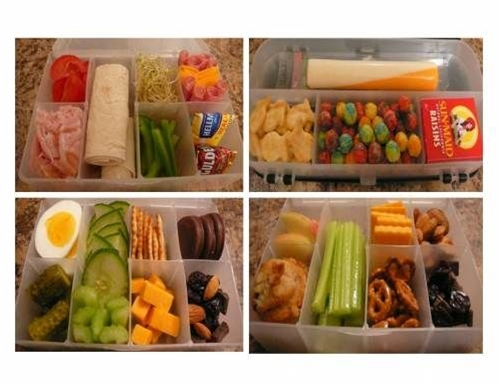 Some of our go-to items for bento boxes are: